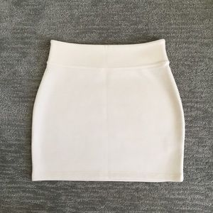 Silence + Noise fitted skirt